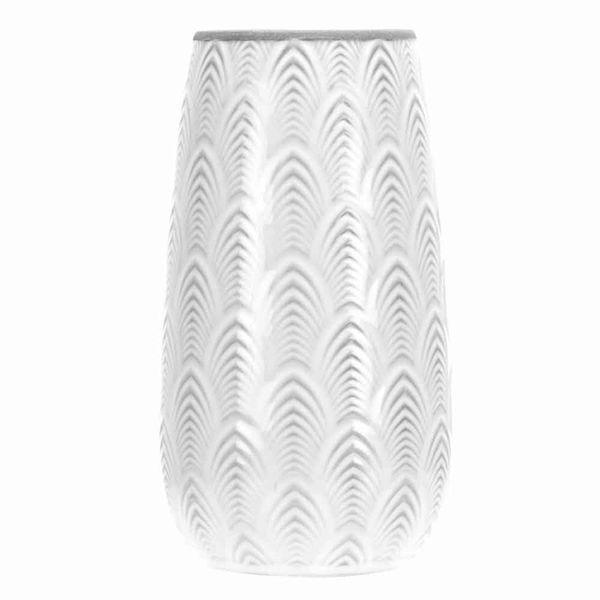 Florero-C19-Royal-15-15-27.5Cm-Porcelana-Blanco-Gris--------