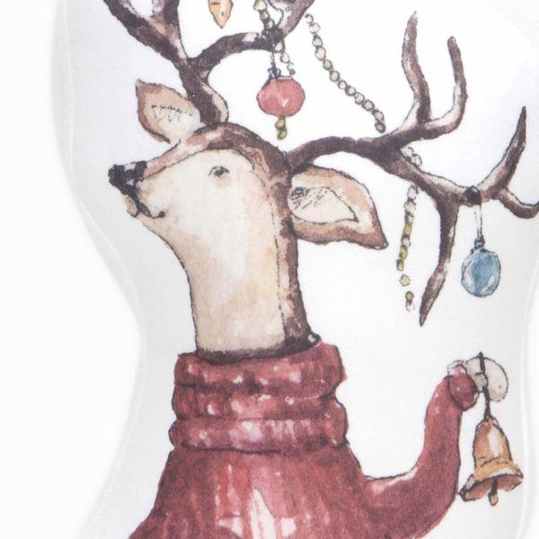 Navidad-Funda-Cojin-Reno-Luces-45-45-Cm