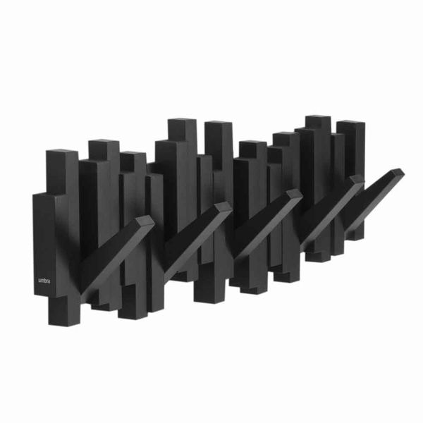 Perchero-Sticks-50-3-18Cm-Plastico-Negro--------------------