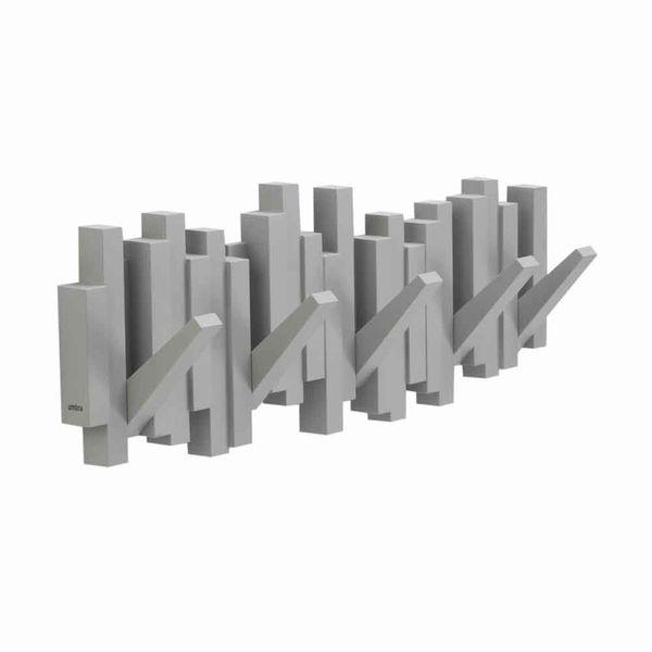 Perchero-Sticks-50-3-18Cm-Plastico-Gris---------------------