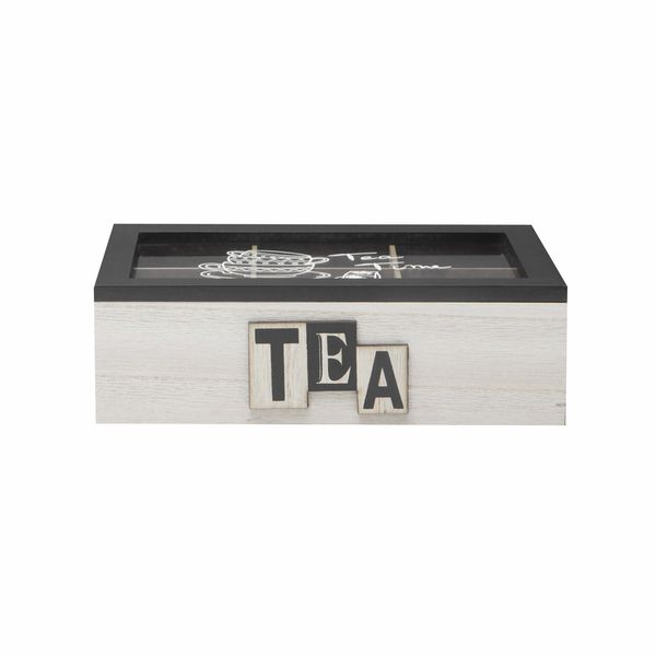 Caja-Tea-Box-24-16-7Cm-Mdf-Natural-Negro--------------------