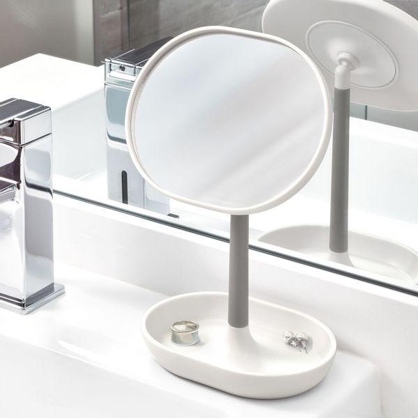 Espejo-Baño-Cade-11.3-6.5-19.8Cm-Plastico-Blanco------------
