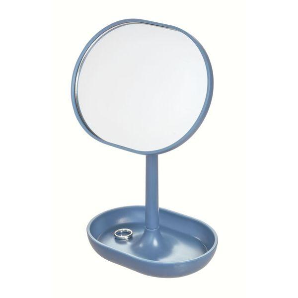 Espejo-Baño-Cade-11.3-6.5-19.8Cm-Plastico-Azul--------------