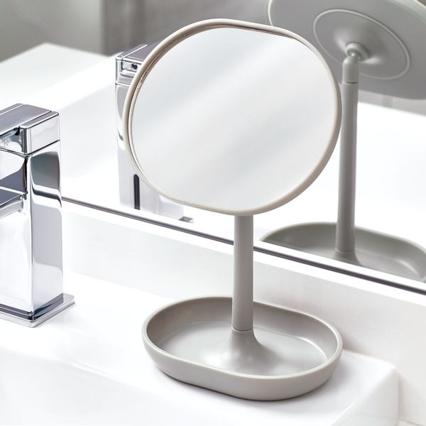 Espejo-Baño-Cade-11.3-6.5-19.8Cm-Plastico-Gris--------------
