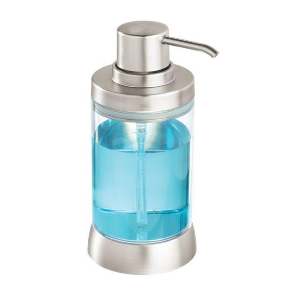Dispensador-Jabon-Haley-10.2-4-17.3Cm-Plastico-Trans-Cromo--
