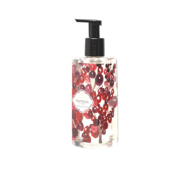Jabon-Liquido-Espuma-392Ml-Frambuesa-Violeta----------------