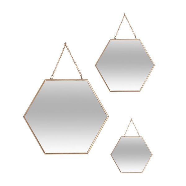 Setx3-Espejos-Hexagono-Vidrio-