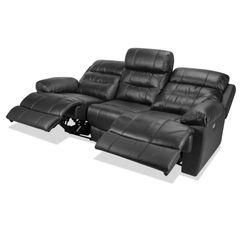 Sofa-3-Puestos-Recli-Elec-Viggo-Cuero---Pvc-Negro-----------