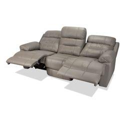 Sofa-3-Puestos-Recli-Elec-Viggo-Cuero---Pvc-Gris------------