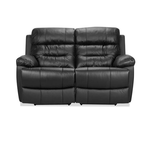 Sofa-2-Puestos-Recli-Elec-Viggo-Cuero---Pvc-Negro-----------