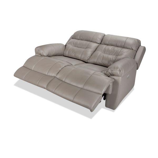 Sofa-2-Puestos-Recli-Elecviggo-Cuero---Pvc-Gris-------------