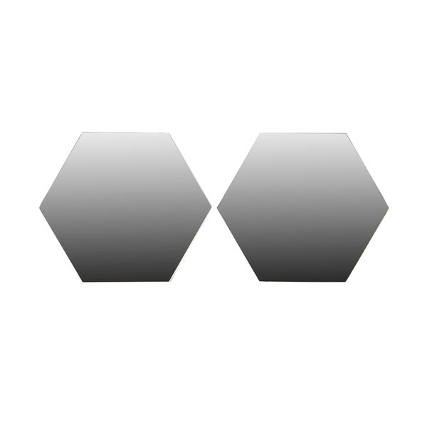 Set-2-Espejos-Hexa-40-40Cm-Vidrio-Adhesivo------------------