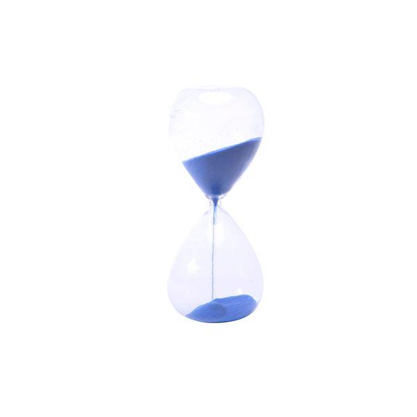 Figura-C19-Reloj-Arena-8-8-20Cm-Vidrio-Azul-----------------
