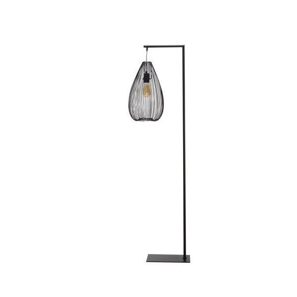 Lampara-De-Piso-Cague-39-25-57Cm-Negra----------------------