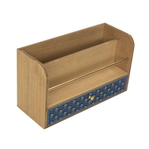 Caja-Ocean-C-Separador-30-11-17Cm-Mdf-Natural-Azul----------