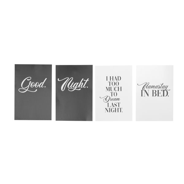 Set-4-Posters-Good-Night-20-30Cm-Papel----------------------