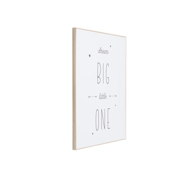 Cuadro-Dream-Big-Little-One-40-50Cm-Papel-Marco-------------