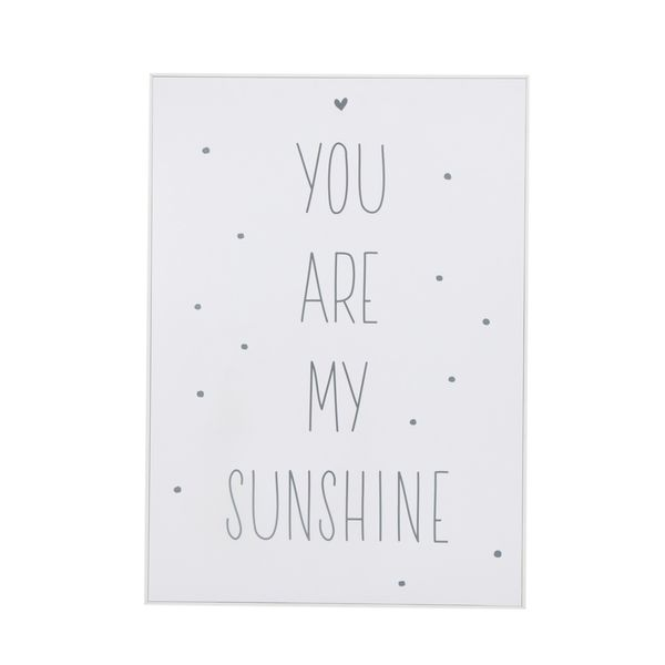 Cuadro-You-Are-My-Sunshine-40-50Cm-Papel-Marco--------------