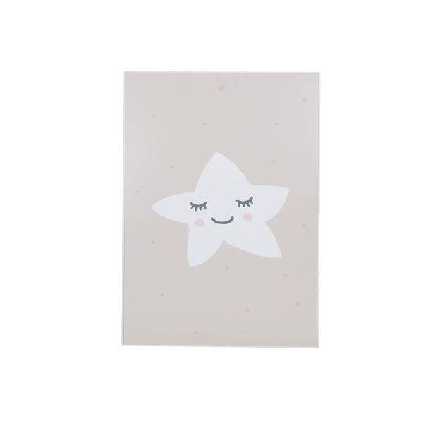 Cuadro-Sleeping-Star-40-50Cm-Papel-Marco--------------------
