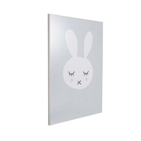 Cuadro-Sleeping-Bunny-40-50Cm-Papel-Marco-------------------