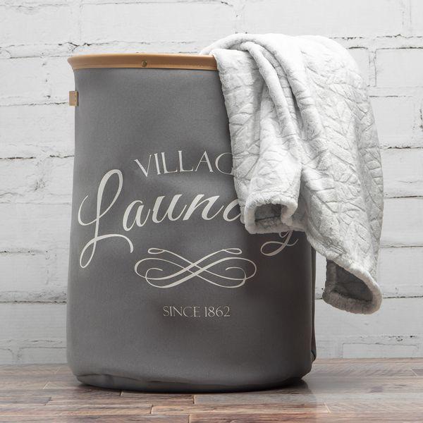 Bolsa-Ropa-Laundry-Village-40-40-50Cm-Poliester-Gris