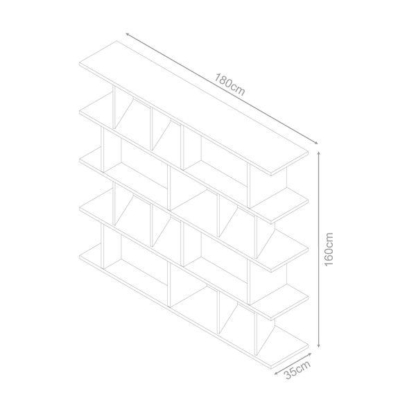 Biblioteca-Buro-Nogal-