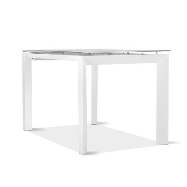 Mesa-De-Comedor-Lisboa-120-170--80-76-Ext-Vid-Blanco-Metal