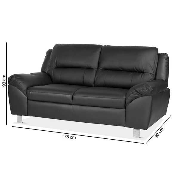 Sofa-2P-Battley-Negro