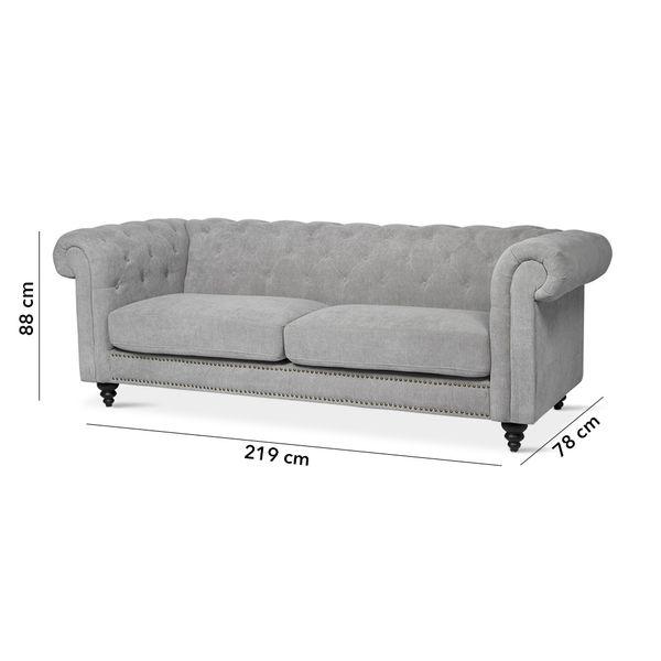 Sofa-3P-Chester-Gris