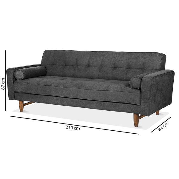 Sofa-Cama-Click-Clack-Kimberly-Gris