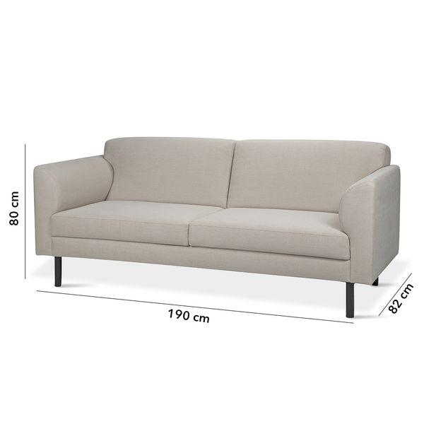 Sofa-3P-Marathon-Beige