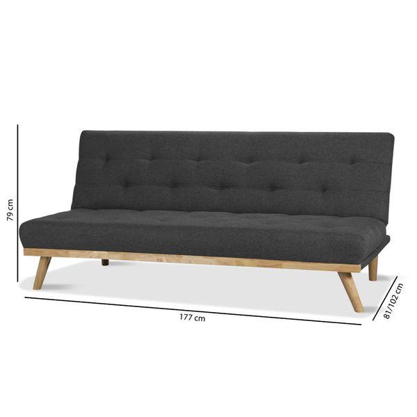 Sofa-Cama-Spike-Gris