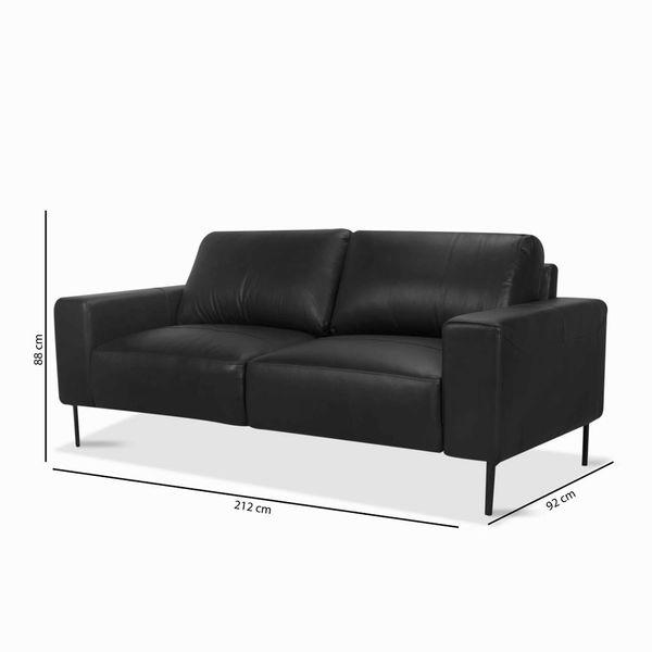Sofa-3P-Gus-Negro