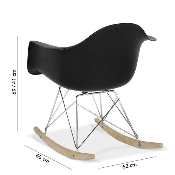 Silla-Mecedora-Eames-Negro