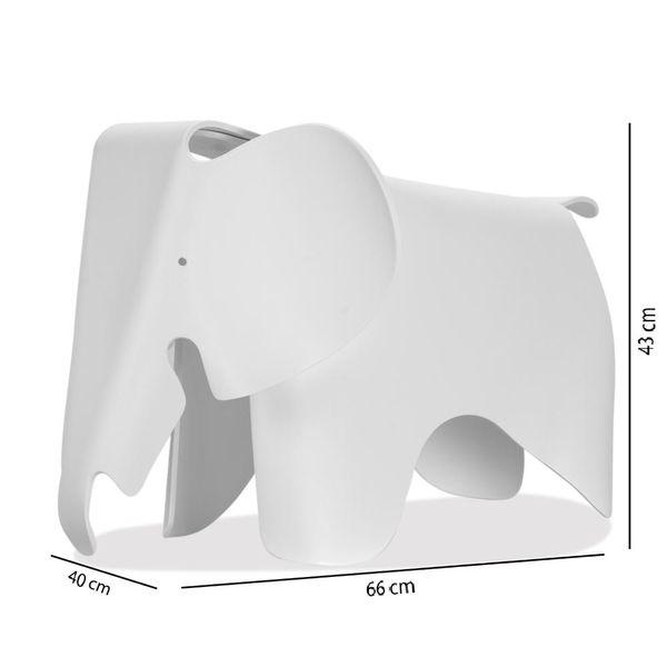 Puff-Eames-Elefante-Niños-Blanco