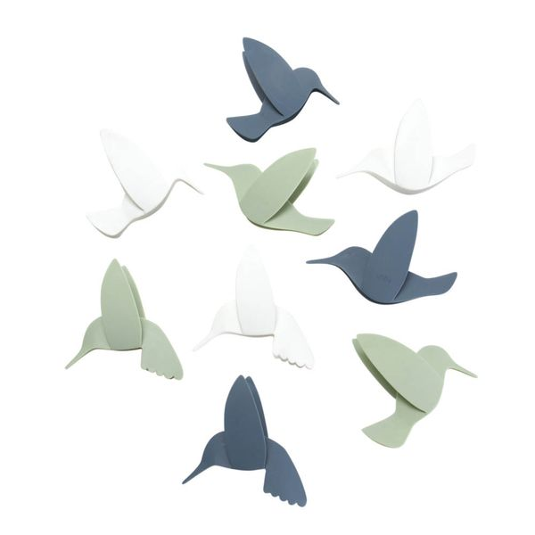 Set-9-Aplique-Pared-Hummingbird-12.7-2.5-10Cm-Plastico-Surt-
