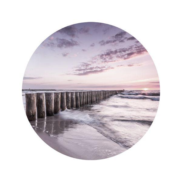 Cuadro-Circular-Sunset-70-70Cm-Vidrio-----------------------