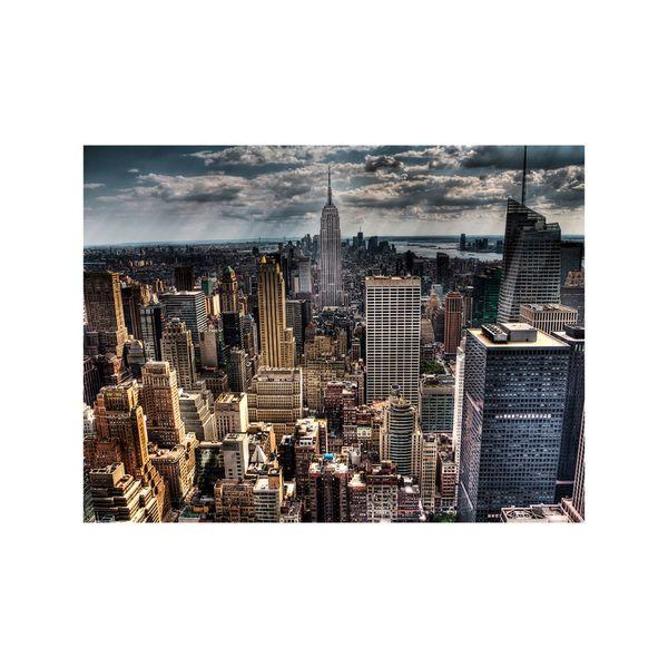 Cuadro-Manhattan-75-100Cm-Canvas-Silver---------------------