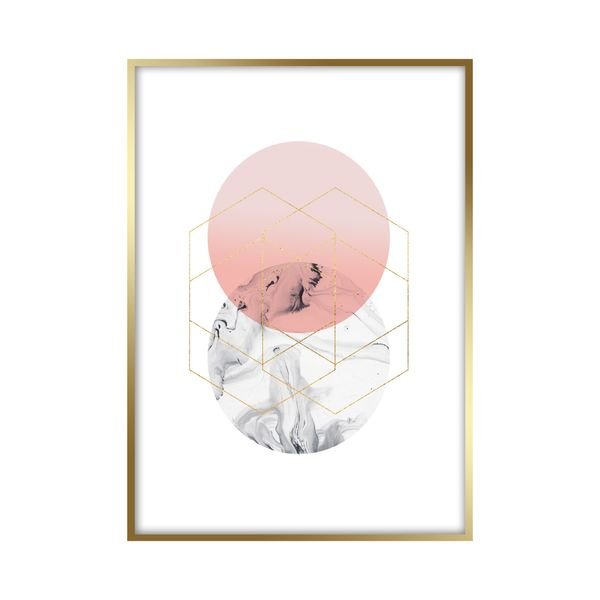 Cuadro-Circle-30-40Cm-Papel-Mdf-----------------------------