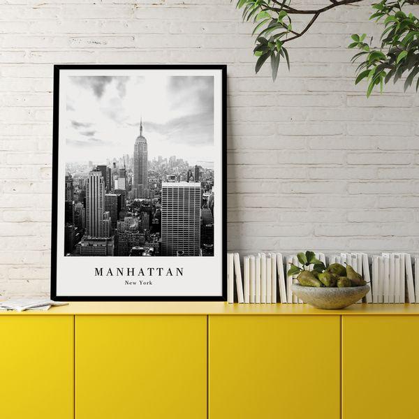 Cuadro-Manhattan-50-70Cm-Papel-Mdf--------------------------
