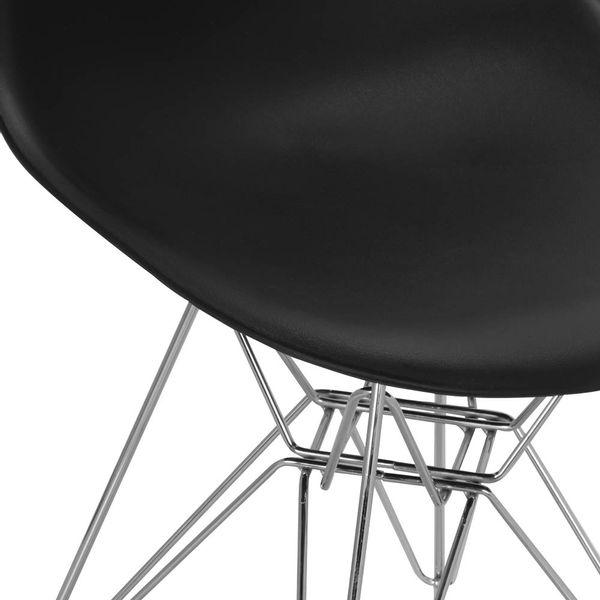 Silla-Auxiliar-Eames-Plastico-Negro-Pata-Metal