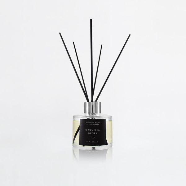 Difusor-De-Aroma-100-Ml-Orquidea-Negra-Transparente