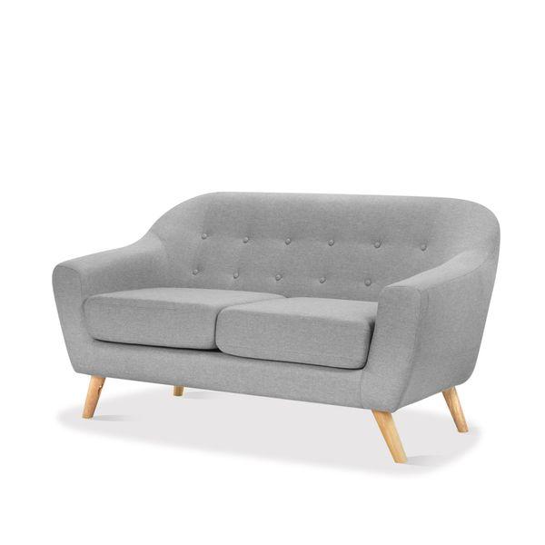 Sofa-2-Puestos-Thor-Tela-Gris-Claro-------------------------