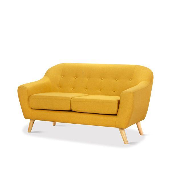 Sofa-2-Puestos-Thor-Tela-Amarillo---------------------------