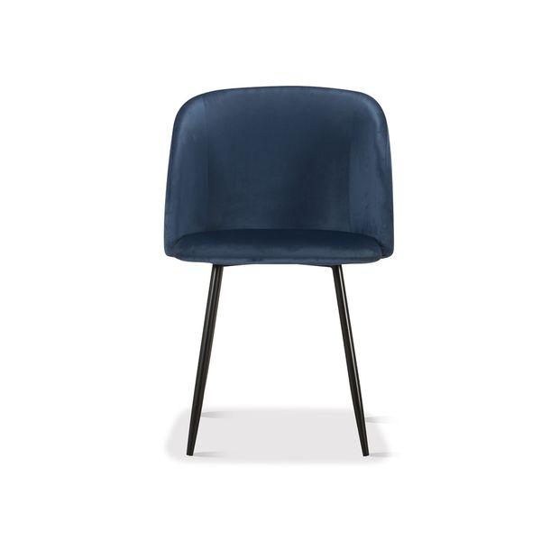 Silla-De-Comedor-Berlin-Terciopelo-Azul---Metal-Negro-------