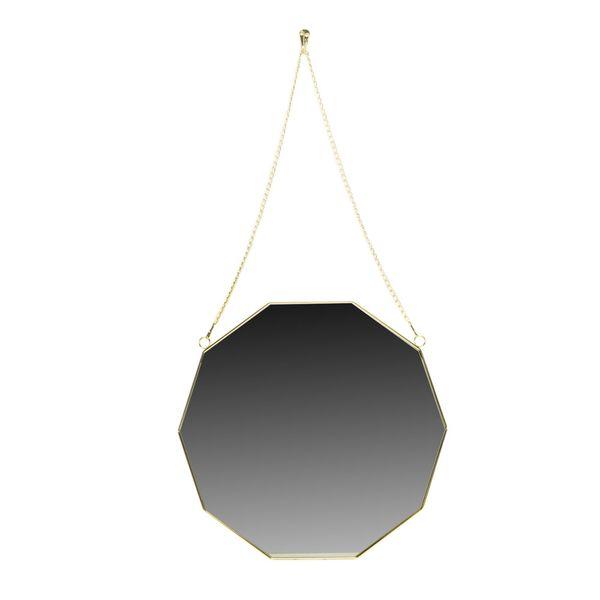 Espejo-Geometrico-Golem-40-42Cm-Metal-Dorado----------------