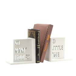 Apoya-Libros-Books-32-10-15Cm-Madera-Blanco-----------------