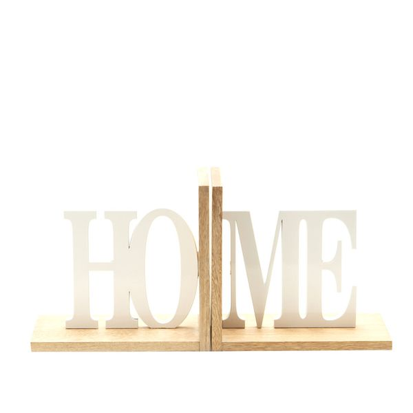 Apoya-Libros-Home-32-10-15Cm-Madera-Natural-Blanco----------