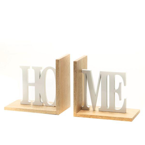 Apoya-Libros-Home-32-10-15Cm-Madera-Natural-Blanco----------