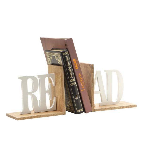 Apoya-Libros-Read-32-10-15Cm-Madera-Natural-Blanco----------